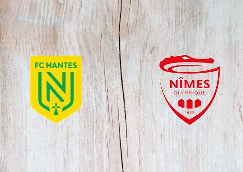 Nantes vs Nîmes -Highlights 30 August 2020