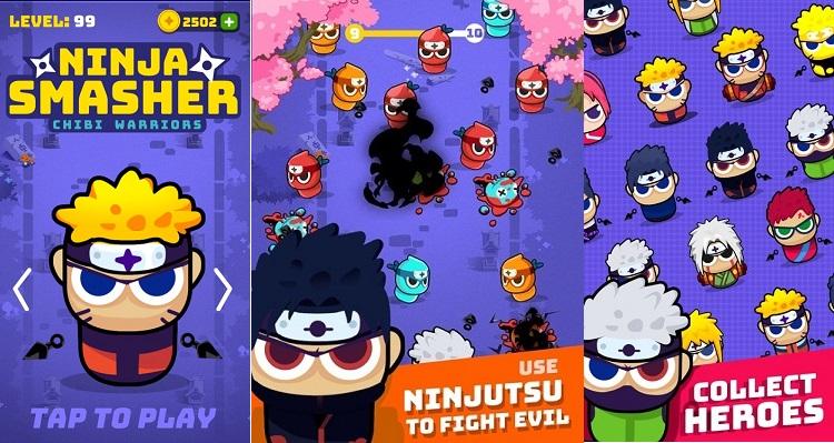 Ninja Smasher: Naruto & Friends