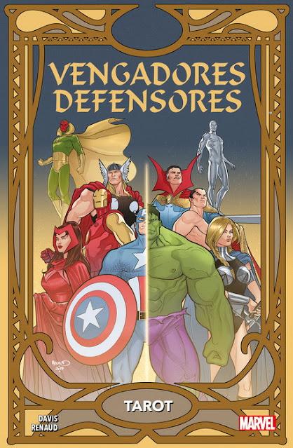 Review del cómic Vengadores/Defensores: Tarot, de Alan Davis y Paul Renaud - Panini Comics