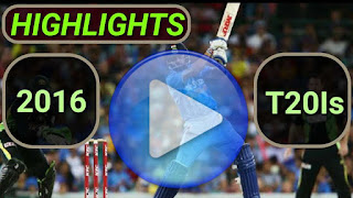 2016 t20i cricket matches highlights online