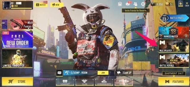 Cómo jugar partidas 1v1 en Call Of Duty Mobile (2021)
