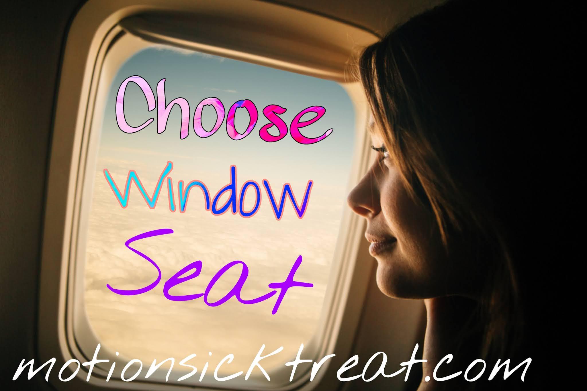 motion sickness on plane