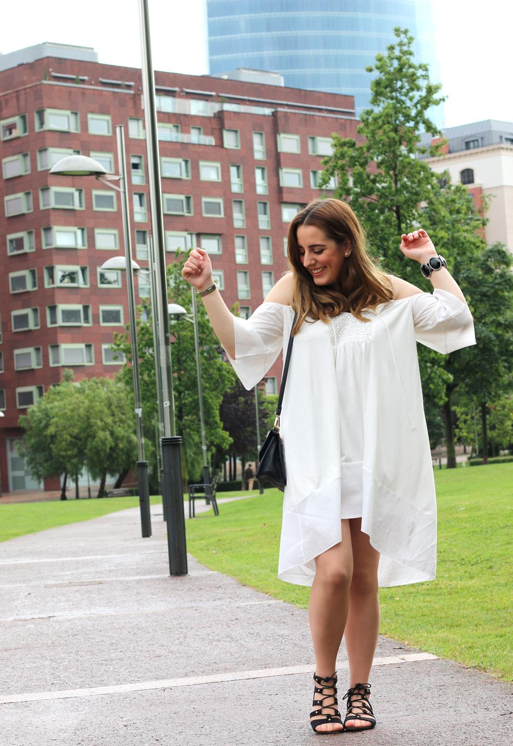 Vestido blanco para verano | Me Myself My Wardrobe | Bloguera y ...