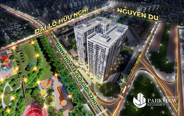 Tổng quan dự án Parkview Apartment Thuận An