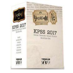 Yediiklim KPSS Genel Yetenek Genel Kültür Konu Anlatımlı Modüler Set (2017)