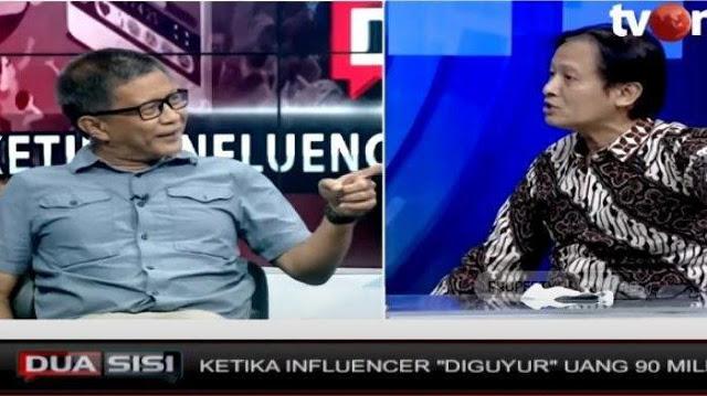 Rocky Gerung Sebut Prof Henry Subiakto Bukan Lulusan Airlangga tapi 'Air Cebong'