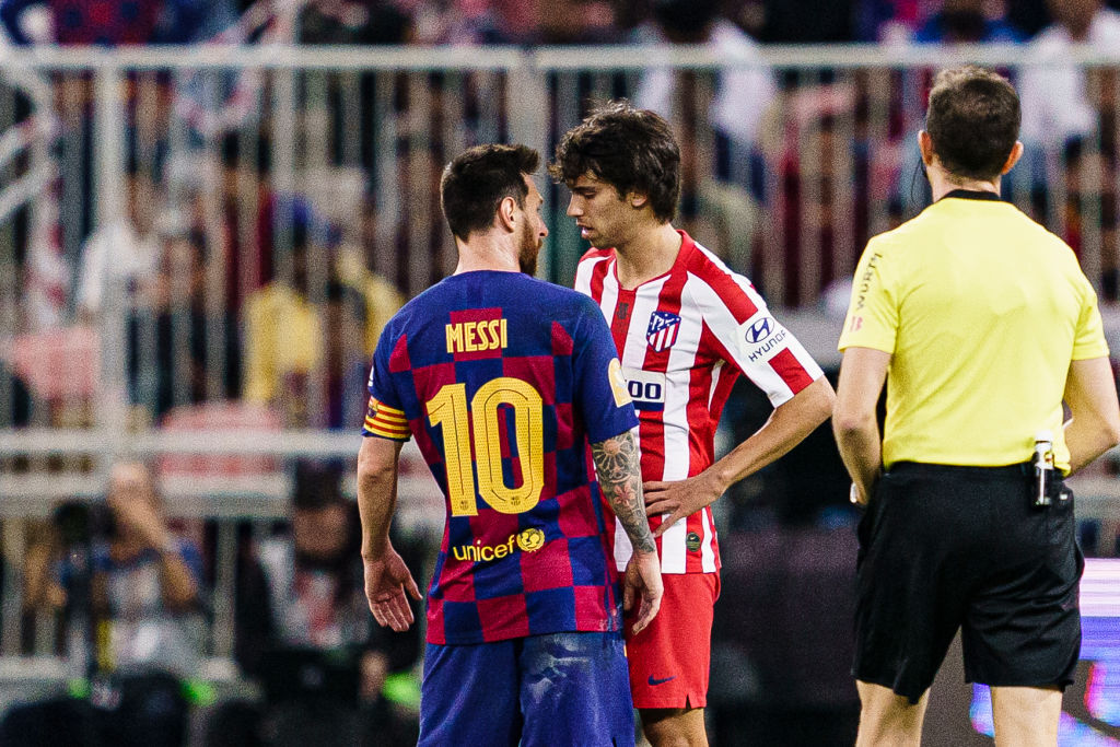 Barcelona and Atletico Madrid meet on Saturday at the Nou Camp in a game of massive importance