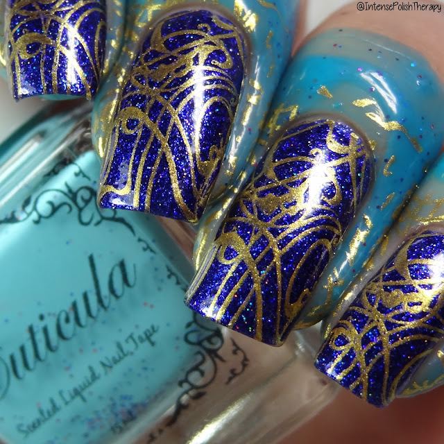 Cuticula Nail Tape in the scent Rock Candy