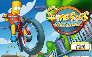 Game simpson đua xe game thú vị