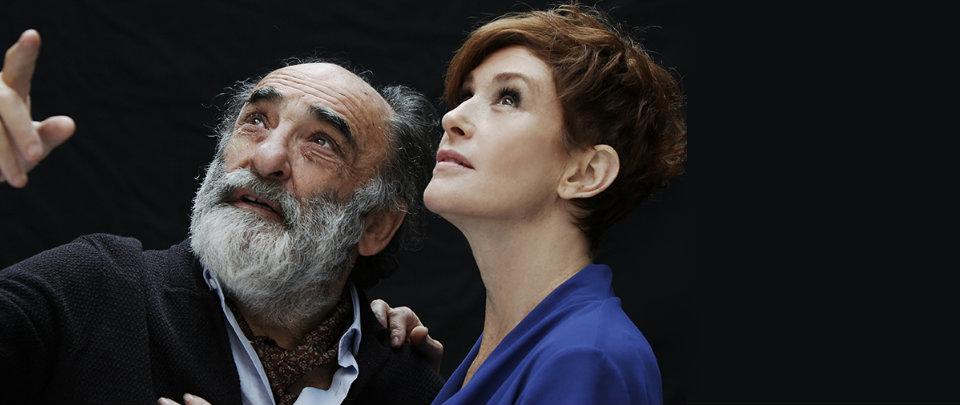 Il padre  al Manzoni Alessandro Haber e Lucrezia Lante Della Rovere  emozionano portando in scena l Alzheimer aeb19985a426