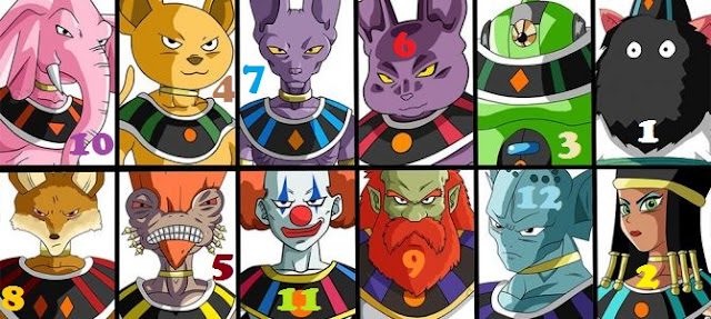 new characters in the official website of dragon ball super