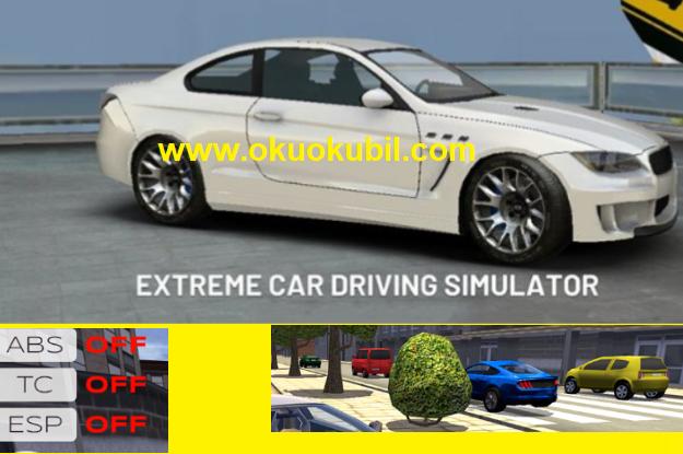 Extreme Car Driving  v5.0.8 Trafikte Yarış Simulator Mod Apk Sınırsız Para 2020