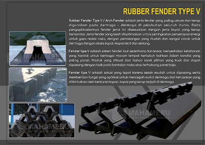 Rubber Fender Tipe V 200 H