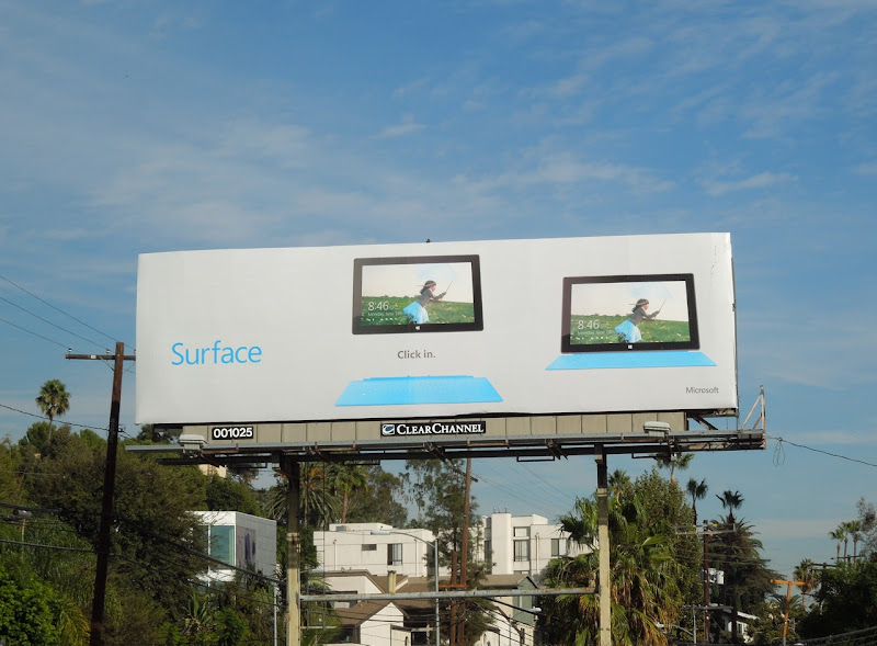 Surface billboard