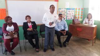 Regional 01 de Educación  busca solución a situación de escuela  Fidelina Feliz Matos en la  Gúazara, Barahona