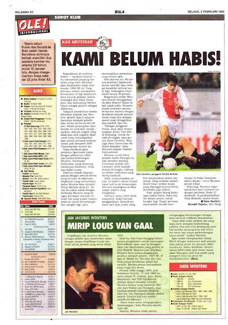 PROFIL KLUB AJAX AMSTERDAM BELUM HABIS