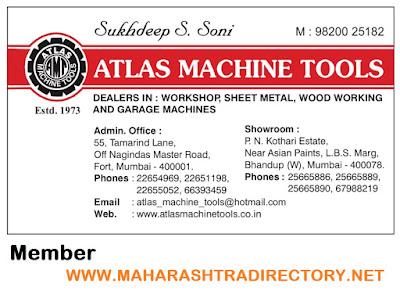ATLAS MACHINE TOOLS - 9820025182