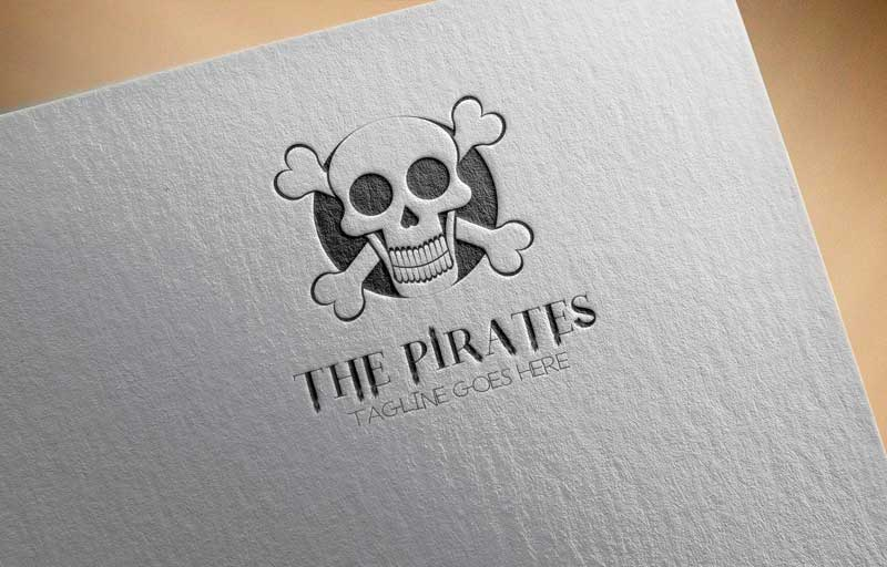 Download Free Skull and Crossbones Logo for Business