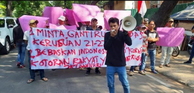 Korban Aksi 22 Mei ke Komnas HAM : Bebaskan Indonesia dari Kotoran Rakyat