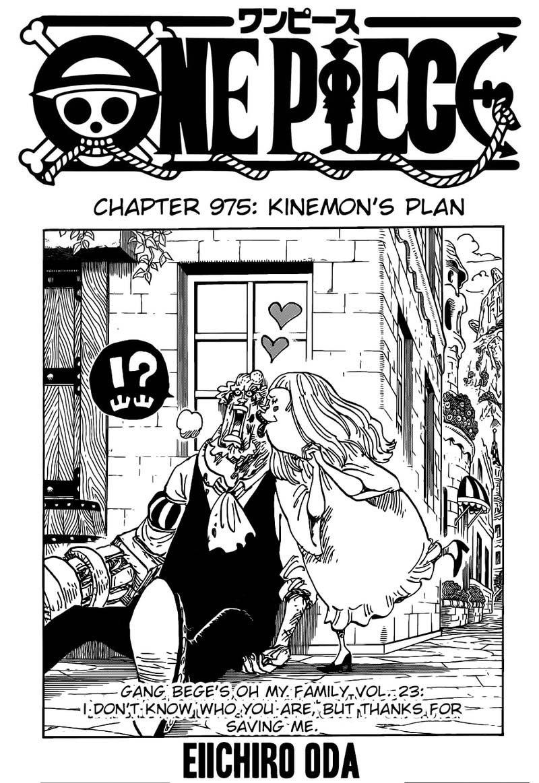One Piece Manga Chapter 975 - Image 001