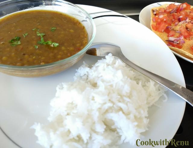 Masoor Dal/Brown Lentils/Kali Masoor ki Dal
