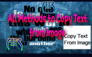 All Methods to Copy Text from Any Image