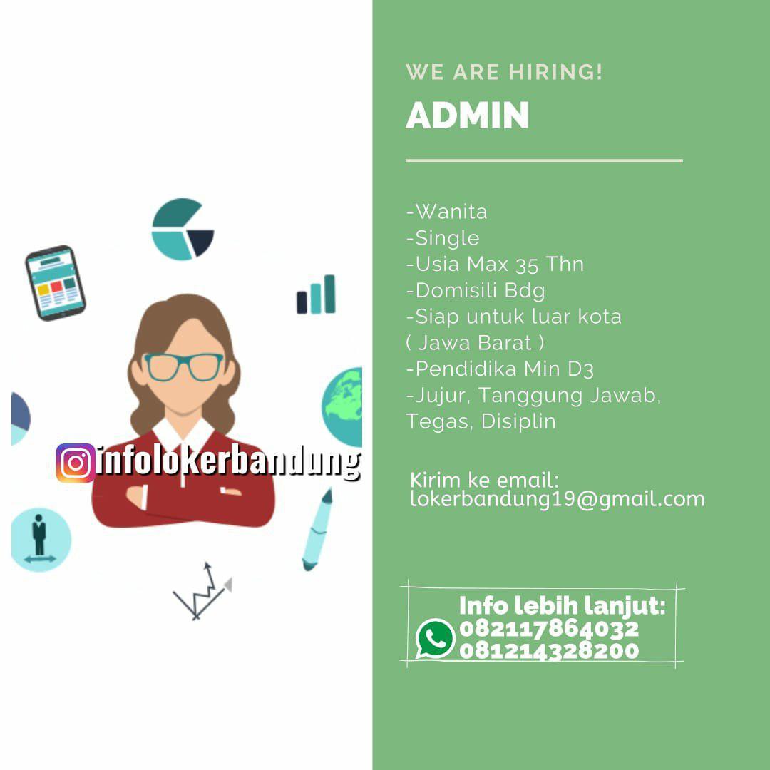 Lowongan Kerja Admin CV. Artha Graha Bandung November 2019