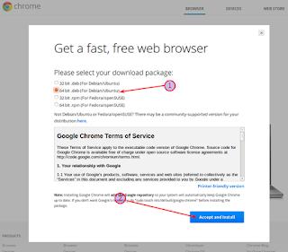 Cara Install Google Chrome Di LINUX (Ubuntu, Backbox)