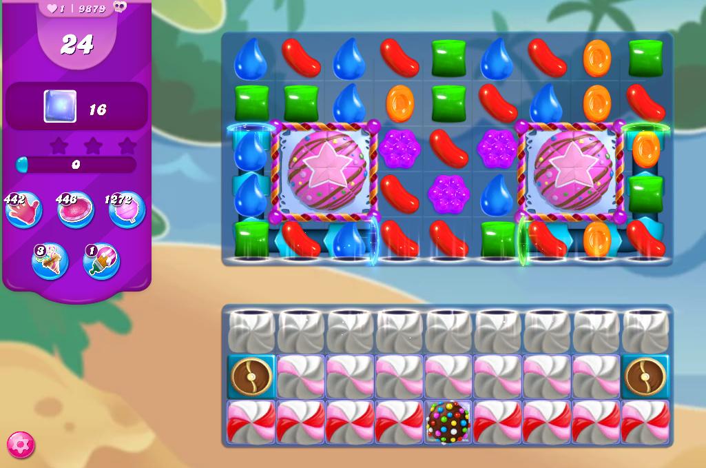 Candy Crush Saga level 9879