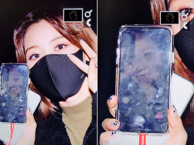Who is the Mysterious Figure on Jihyo TWICE Smartphone that Netizens are Talking About?