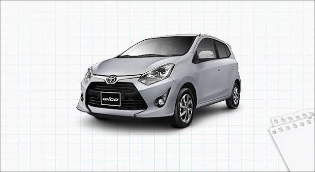 Giá xe Toyota Wigo 1.2G MT 2019