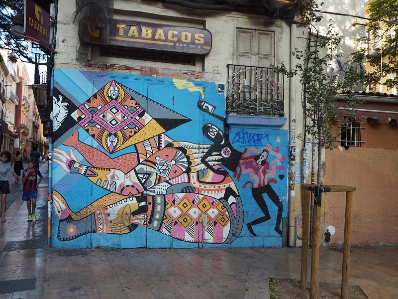 Street art in El Carmen, Valencia