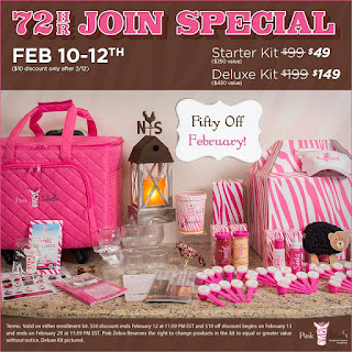 Feb 2016 Pink Zebra Join Special