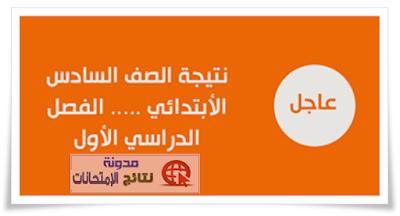 نتيجة الشهاده الابتدائيه محافظة الاسكندريه 2018 برقم الجلوس