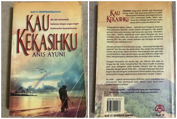 Novel Kau Kekasihku By Anis Ayuni