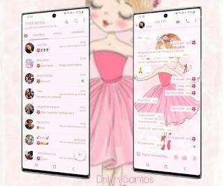 Baby Girl Theme For YOWhatsApp & Fouad WhatsApp By Driih Santos