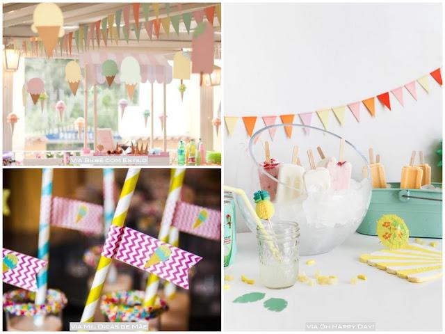 decoração festa de criança