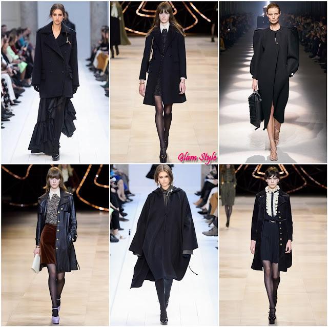 cappotto nero corto