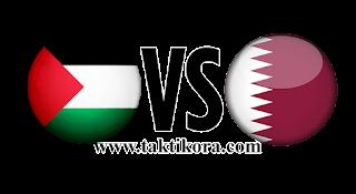مباراة قطر وفلسطين بث مباشر اليوم