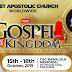 2019 Evangelists, Planters, Prophets, Prophetesses conference commences