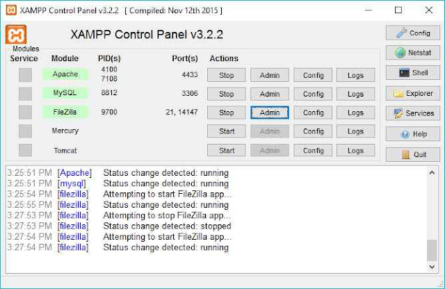 Create your own server using xampp and FileZilla - Engineeringway