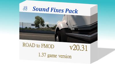Sound Fixes Pack v20.31.2 - ETS2 1.37