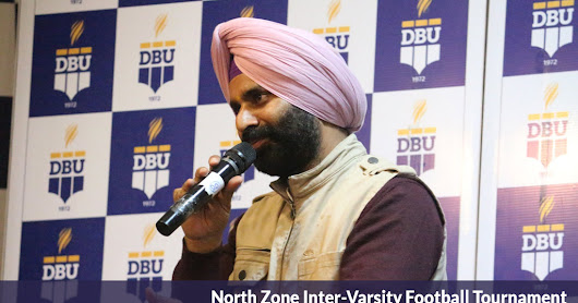 North Zone Inter-Varsity Football Tournament (Men) Concludes at Desh Bhagat University