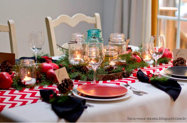 Como Arrumar Uma Mesa De Natal Simples E Bonita -> Como Decorar Uma Arvore De Natal Simples E Bonita