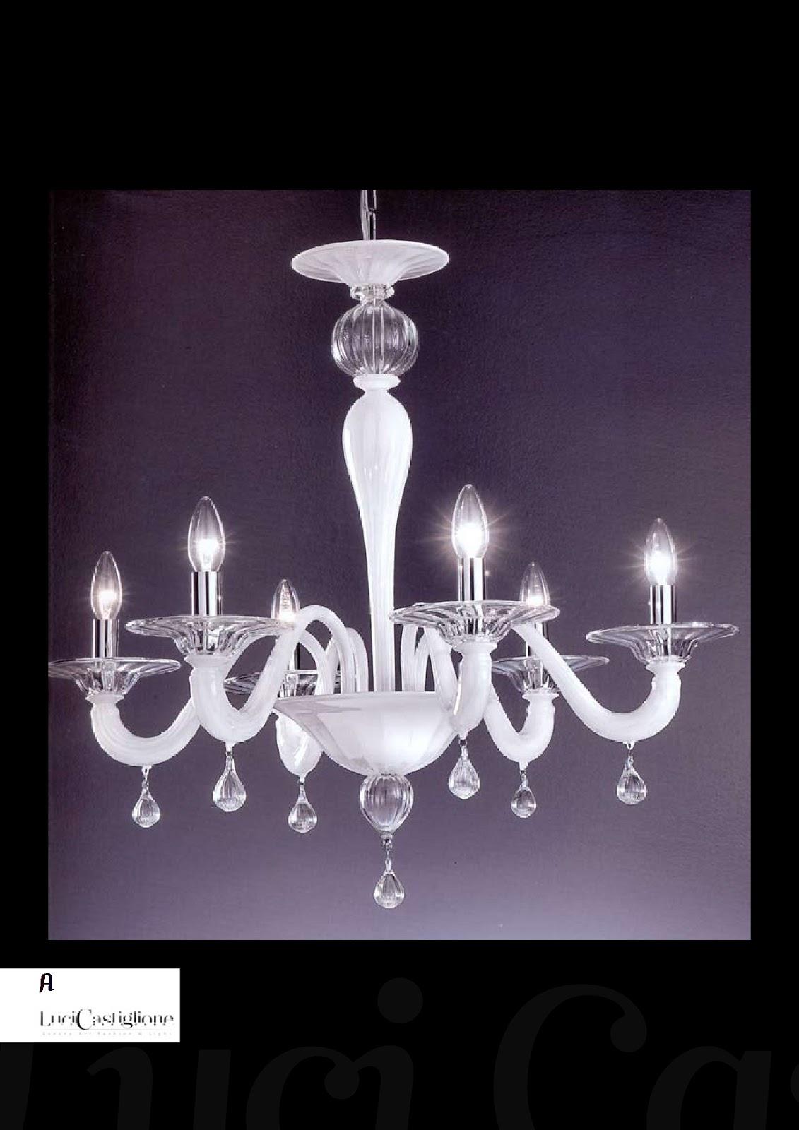 Lampadari in vetro di murano 485 lampadario di murano for Mondo convenienza lampadari moderni