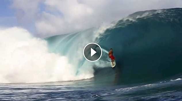 THE END OF THE ROAD TAHITI TEAHUPOO 2016