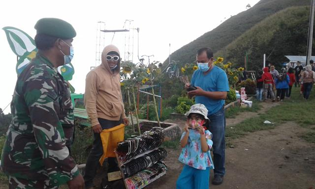 Penegakan Disiplin Protokol Kesehatan Terus Dilakukan Personel Jajaran Kodim 0207/Simalungun