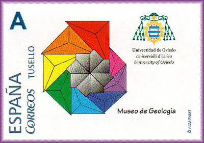 Sello personalizado del Museo de Geología