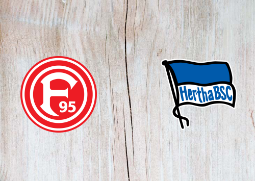 Fortuna DГјsseldorf Vs. Hertha Bsc