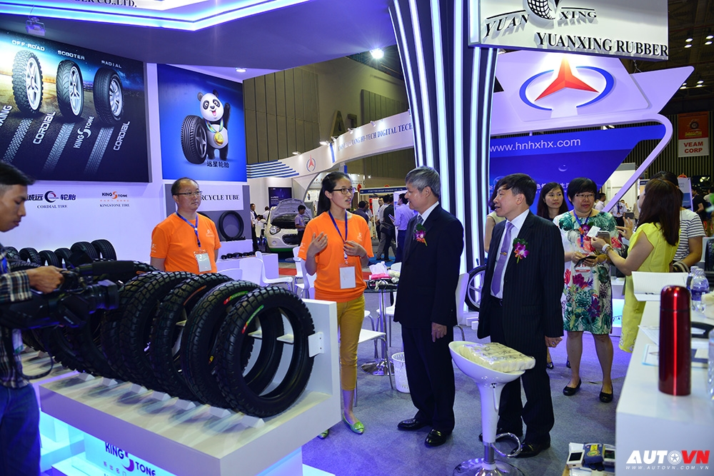 Triển lãm Autotech lần thứ 16 sẽ diễn ra tại Hà Nội